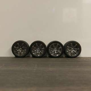 1/18 Kyosho Nissan GT-R35 Stock Rims Set