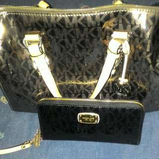 Emergency sale Authentic MK Bag and wallet