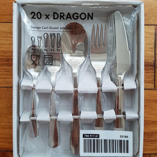 03/03 Ikea 20pc Cutlery Set