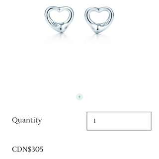 Tiffany Open Heart Earnings