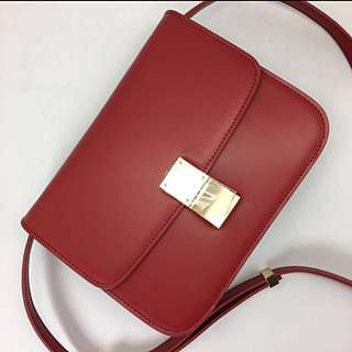 Celine Box Red GHW