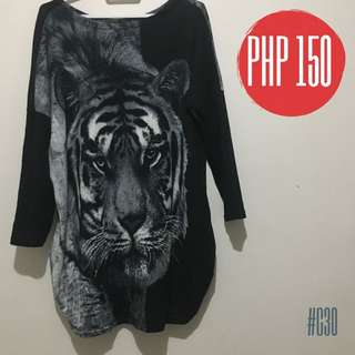 TIGER OVERSIZED TOP🌹