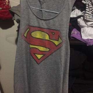 Superman Cutout Shirt