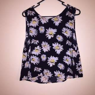 Cotton On Daisy Singlet Size S