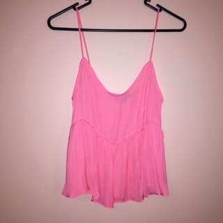 Glassons Frilly Singlet Size 6