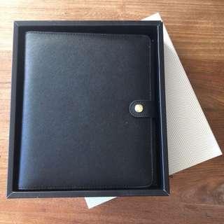 Brand New Black Leather Kiki.K Personal Organiser