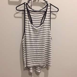 Stripy Singlet Size M