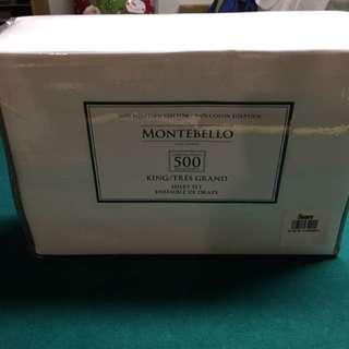 500 Tc Egyptian Cotton Bedsheet Set