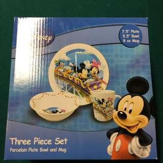 3 Piece Mickey Mouse Set