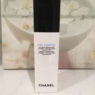 CHANEL LAIT CONFORT CREAMY CLEANSING MILK COMFORT ANTI-POLLUTION FACE AND