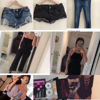BULK Items Clothes And Makeup