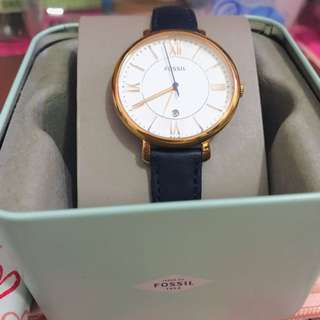 Fossil Jacqueline Watch (navy)