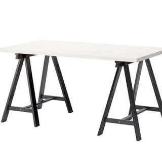 Dining table / desk + chair + cushion