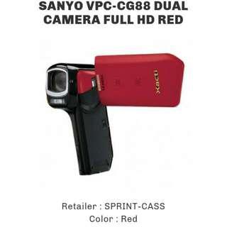 Sanyo VPC CG 88 Dual Camera #HUAT50SALE