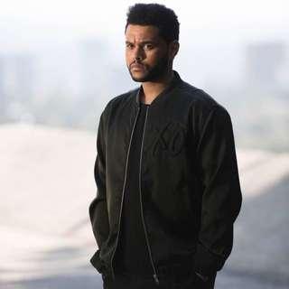 H&m XO Weeknd Bomber
