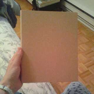 Brown MUJI A5 Binder full of MUJI A5 Lined Paper