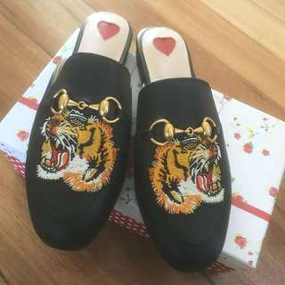 Gucci Inspired Loafers / Slides / Mules
