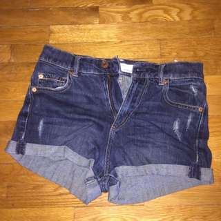 Garage High Waisted Shorts