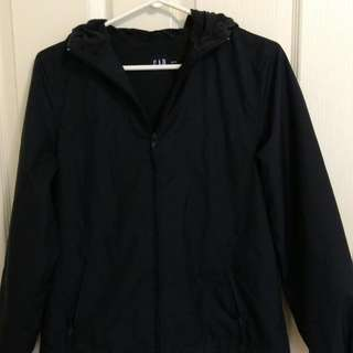 EUC Ladies GAP Jersey Lined Jacket in Navy - Size XS