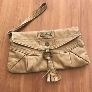 Beige Bag/ Casual Clutch