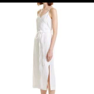 WANT TO BUY! Country Road Tie Wrap Dress White