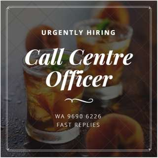 CALL CENTRE OFFICER // HIGH PAY // 1 YEAR CONTRACT