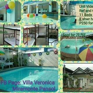 rental private resort