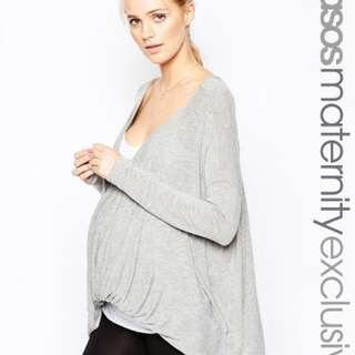 ASOS Maternity LOUNGE Tunic Top With Twist
