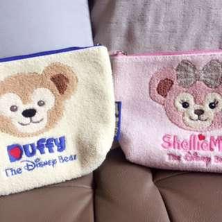 達菲熊&雪莉玫 化妝包