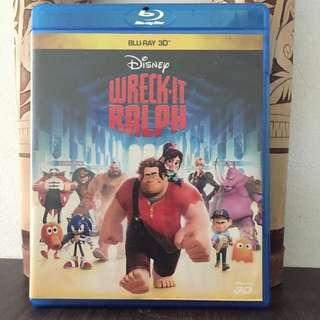 Bluray 3D Wreck It Ralph