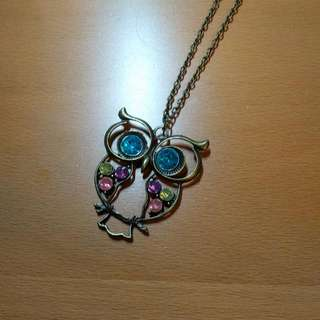 *FREE Owl Necklace