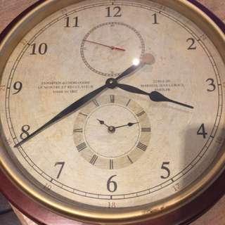 Large chronograph Clock