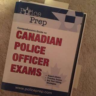 Canadian Police Officer Exam PREP Book