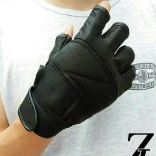 Sarung Tangan Kulit (Half - Z)
