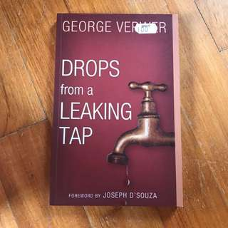 Drops Of A Leaking Tap- George Verwer #Summer40