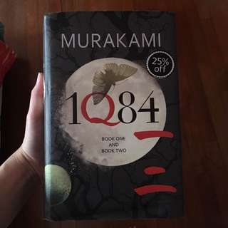 1Q84 Book 1 and 2 Hardcover