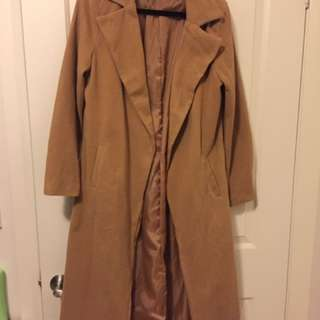 Camel Long Coat