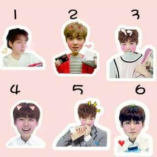 wanna one jihoon stickers