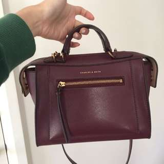 Charles N Keith Messenger Bag