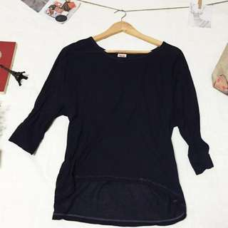 Mossimo Longback 3/4 Top