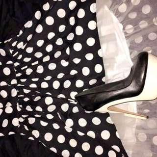 Polka Dot Bustier Dress -Forever 21