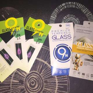 Tempered Glass Iphone 6 Plus (5.5inch) Mirror & Transparant