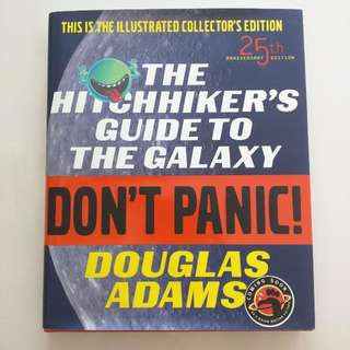Hitchhiker's Guide To The Galaxy (hard cover)