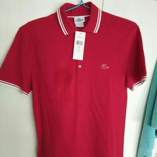 Lacoste Slim Fit POLO (SMALL)