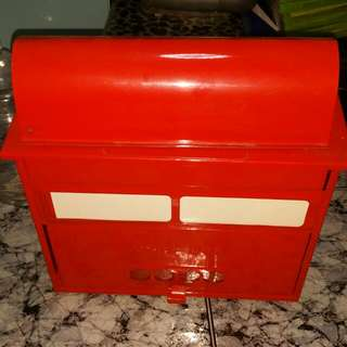 Red Letter Mail Box