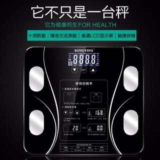 熱賣超過600台 正版體脂計健身瘦身體脂肪bmi智能體重計體脂 百元加購半年保固