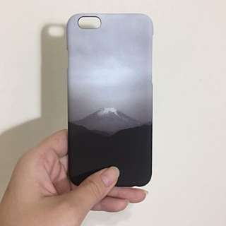 <現貨> iPhone 6/6s/7 日系風 靜謐的富士山 磨砂質感