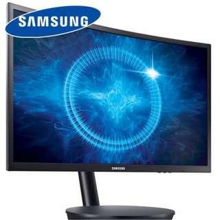 <<全新行貨>> SAMSUNG LC24FG70FQCXXK 24吋 曲面電競專用顯示器