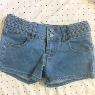 Shorts With Braid Details
