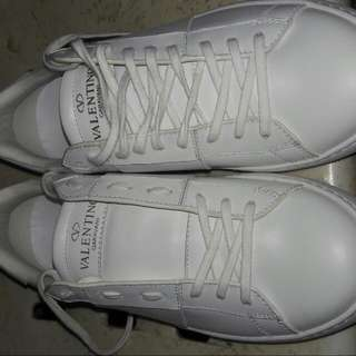 Valentino Garavani Open Leather (White)